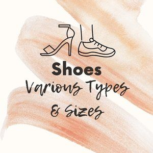 Shoes Various Types & Sizes